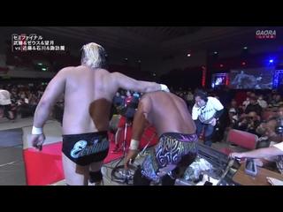 Keiji Muto, Masaaki Mochizuki & Zeus vs. Violent Giants (Shuji Ishikawa & Suwama) & Shuji Kondo