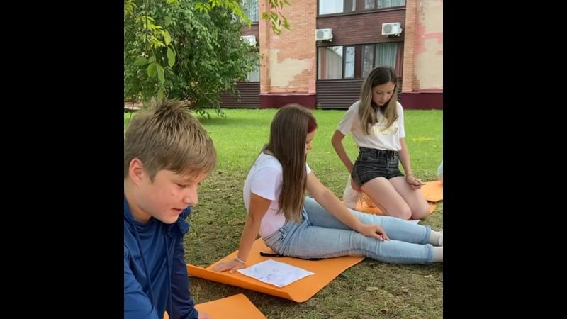 Видео от Orange summer Оранжевое лето Языковой клуб