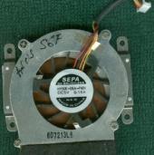 Система охлаждения ноутбука asus S6F