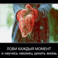 Фотография страницы Эльвиры Шараповой ВКонтакте