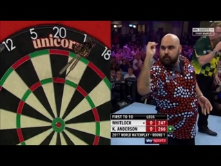 Simon Whitlock vs Kyle Anderson (PDC World Matchplay 2017 / Round 1)
