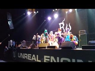 РуБрониКон 2018 - немного танцулек :3