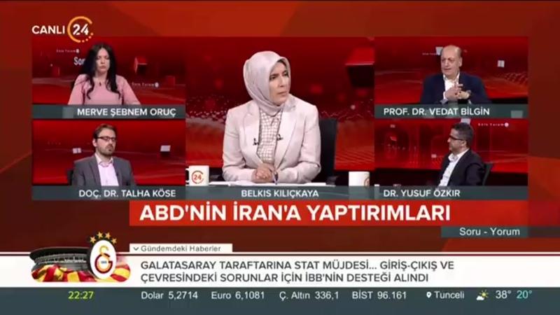 Vedat Bilgin Türkiye, ABDnin yeni Orta Doğu projesini reddetti Soru - Yorum.mp4