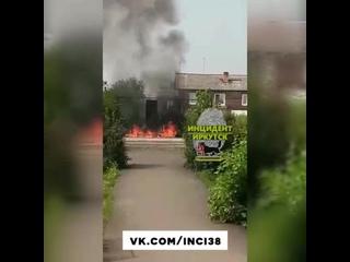 Дети случайно подожгли памятник ветеранам в Тайшетском районе
