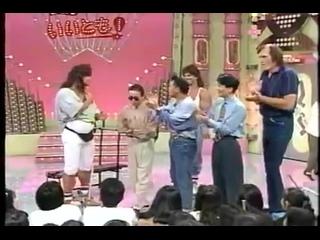 Питер и Дэвид Пол на японском телешоу [ЖИМ ЛЕЖА 200 КГ] (1)