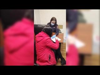 При патрулировании полицейские обнаружили несовершеннолетнюю жительницу Ичалок, которая приехала в Саранск в гости к подруге