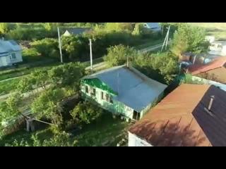 Незрячий житель Рязани, возвёл дом своими руками