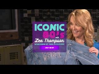 Iconic 80s Week w Tara McNamara  Lea Thompson