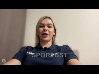 Как Анна Пругова оценивыает игру вратаря Тихомирова?