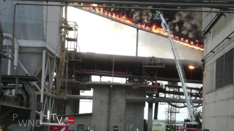 Zusammenfassung des derzeit uns aufliegenden Material vom Brand bei Lafarge Mannersdorf 🚒