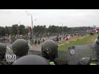 Что происходило сегодня во Дворце Независимости и возле него - комментарий пресс-секретаря Лукашенко