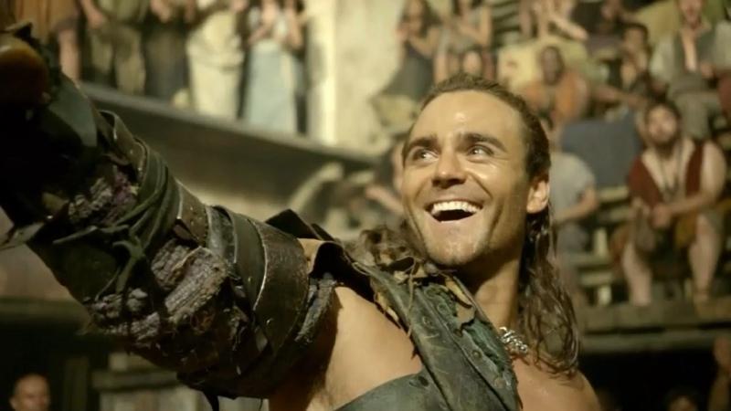 Спартак Боги арены Ганник на арене