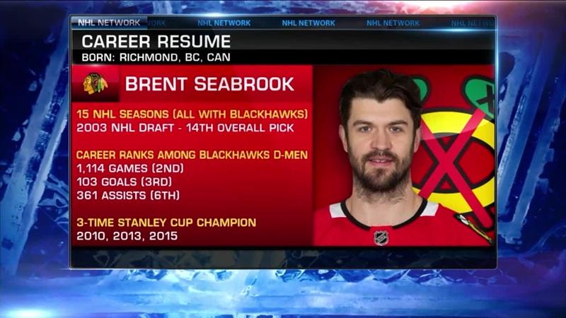 Seabrook retires after 15 seasons Mar 5, 2021