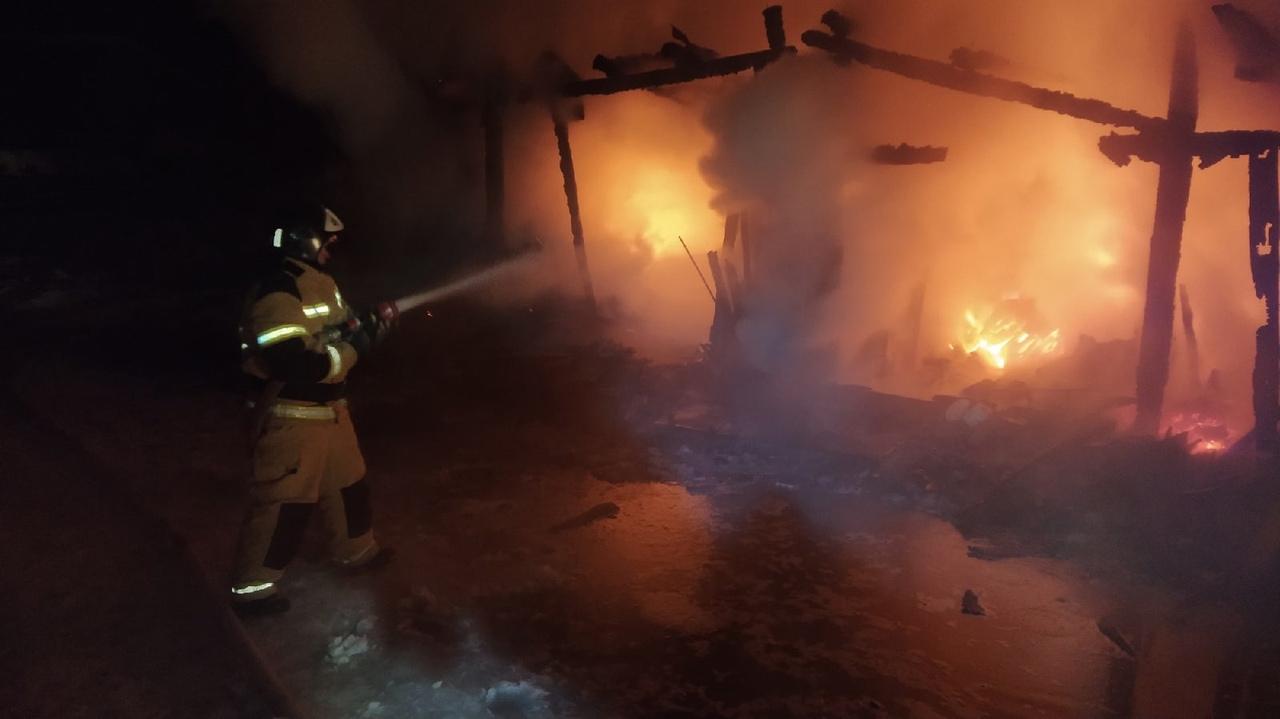 пожар, чайковский район, 2021 год