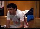 Слуцкий пихает Жиркову в раздевалке