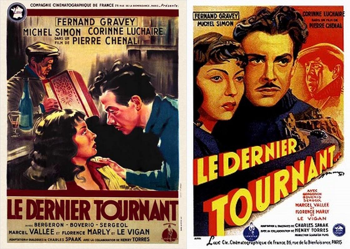 «Le dernier tournant» «Последний поворот» 1939