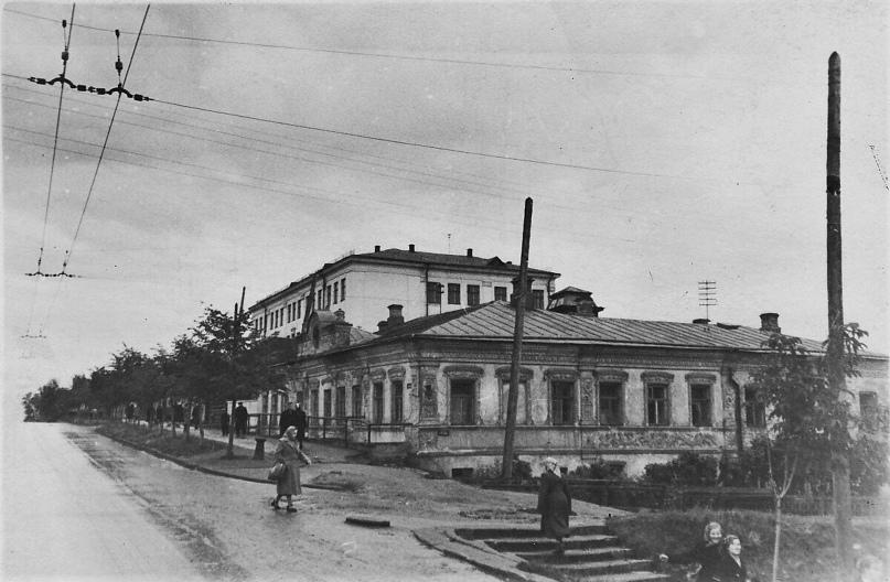 Дом Маевской. 1959 г. Фото: А. Г. Тинский.