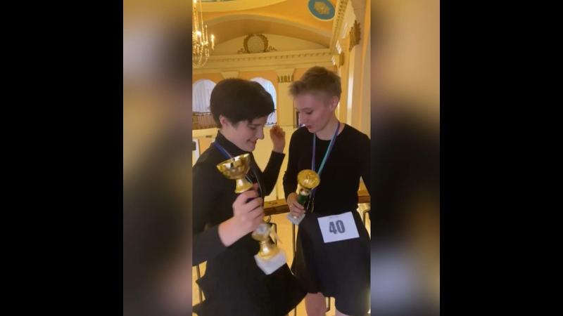 Видео от Кристины Серёгиной