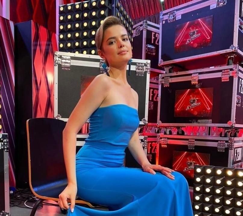 Анна Уварова представляет Костанай на телевизионном вокальном конкурсе Qazaqstan дауысы