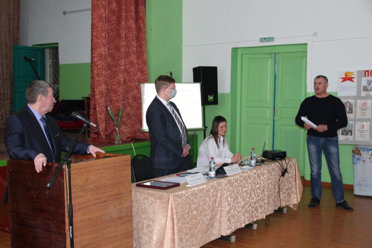 В селе Татарская Пакаевка состоялась выездная встреча с жителями Синеньского МО