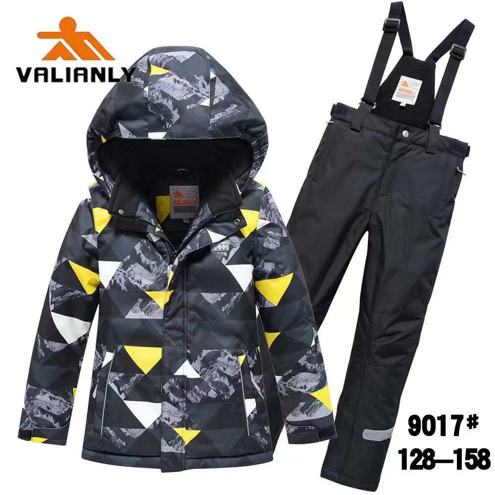 Зимний комплект Valianly 9017 серый