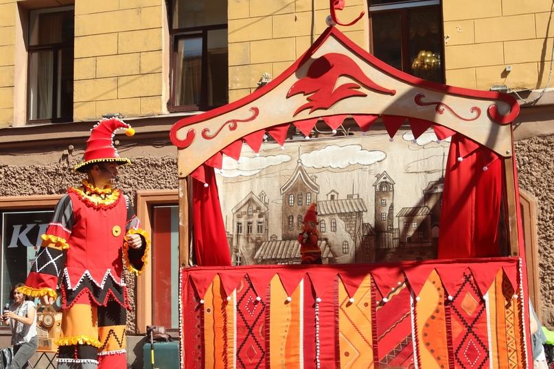 Спектакль «Комедия о Петрушке» Государственного театра кукол (Белгород)