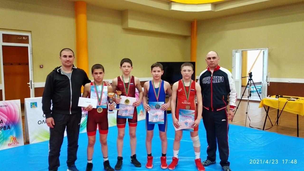 4 призовых места заняли юноши в турнире
