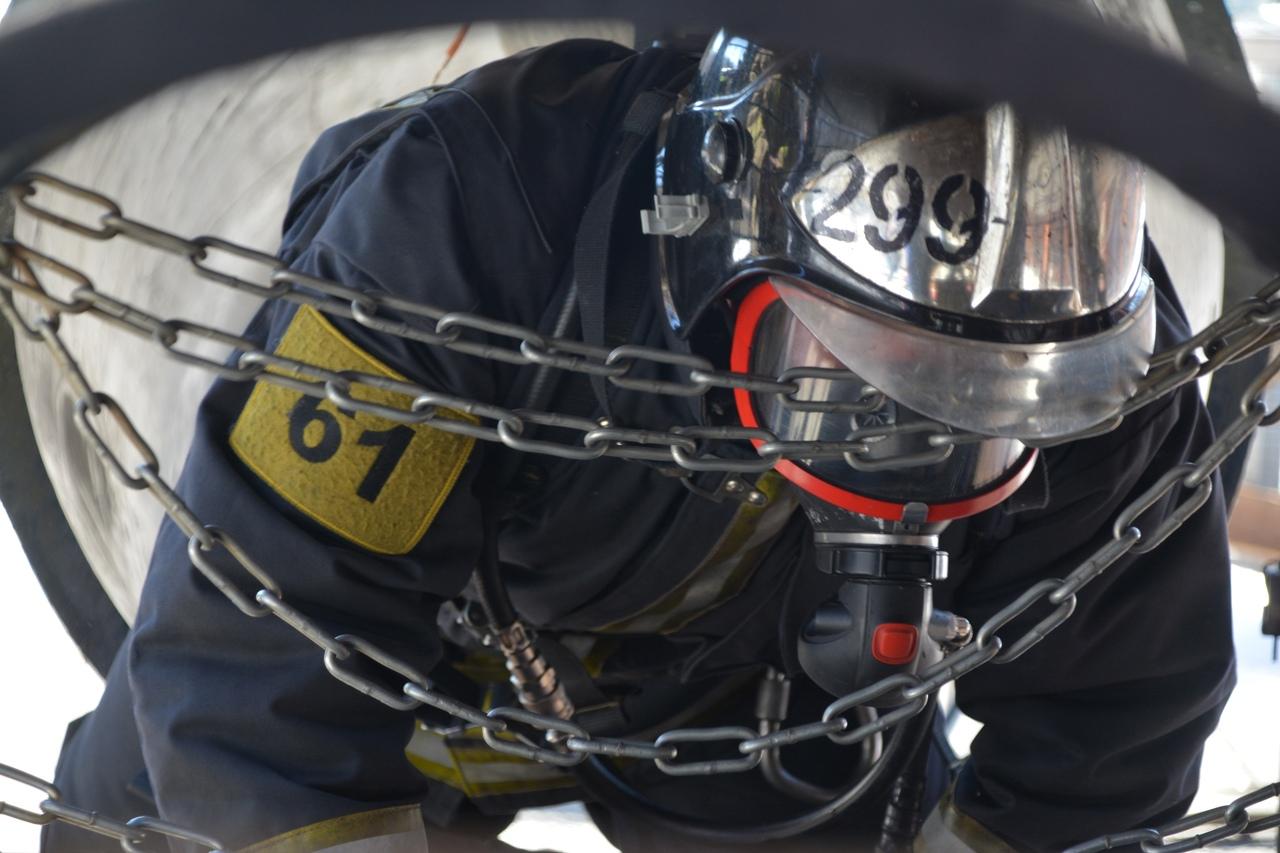 Огнеборцы #Мособлпожспас сдали экзамены на присвоение квалификации «пожарный первого класса»