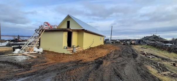 В Курейке завершается строительство здания для нового водозабора