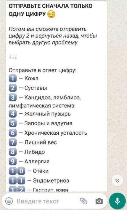 Как мы настроили автоворонку в официальном WhatsApp для продвижения онлайн-курса. Кейс «Школы Здоровья», изображение №7