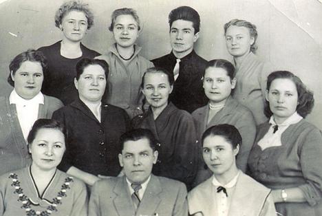 Кулаков Г.М. и коллеги. 1960 -е гг. Копия. Фонды ЧИКМ.