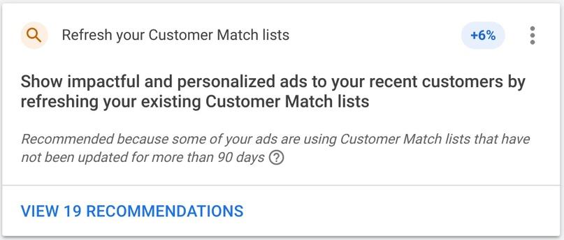 Google стал показывать объем потенциальной аудитории при загрузке списков адресов, изображение №2