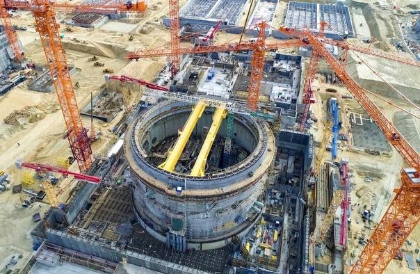 На Курской АЭС началась установка полярного крана,...