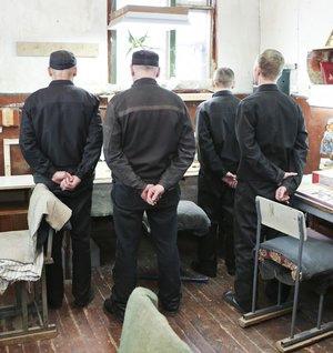 В Нягани заключенные устроили бунт в ИВСНяганский ...