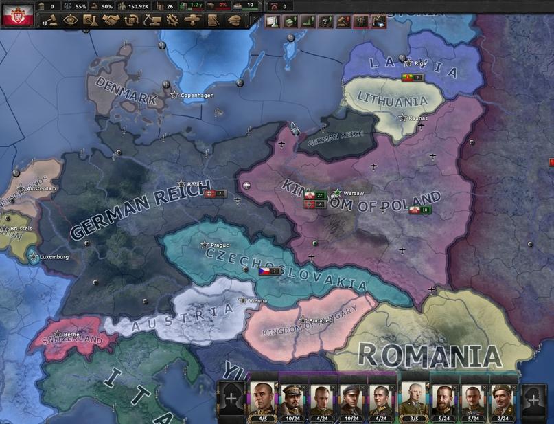 Дневник разработчиков Hearts of Iron IV — Изменение древа фокусов Польши, часть 2, изображение №14