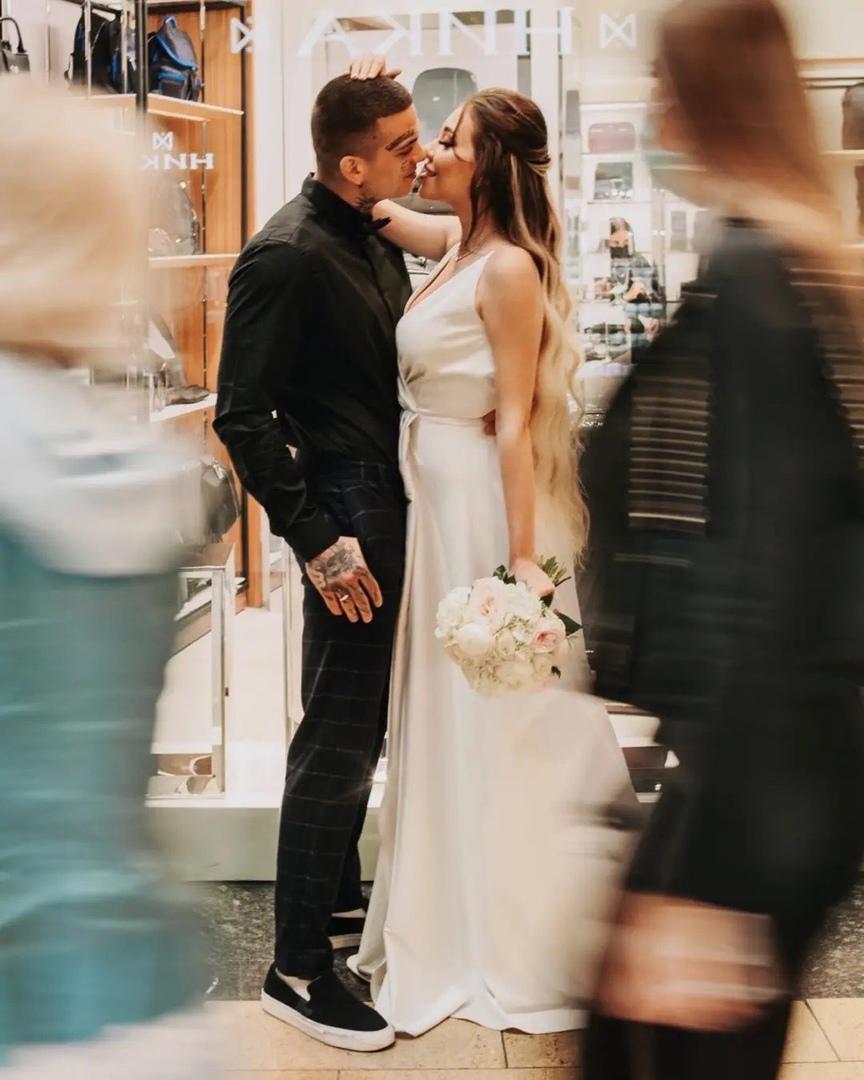 Свадебная фотосессия Алёны Савкиной и Ильи Сёмина