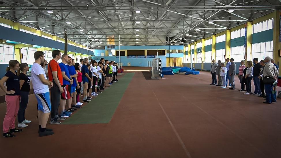 В Донецке состоялись соревнования по лёгкой атлетике