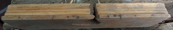 Рубанок ручной деревянный фигурный производство СС...