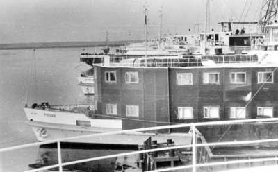 Белый пароход