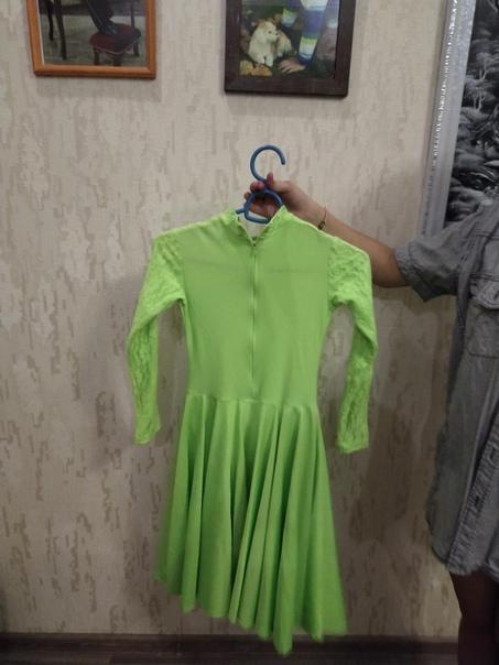 Платье для танцев латинос, состояние хорошее...