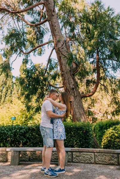Фотосессия Love Story в Алупке. 09.19