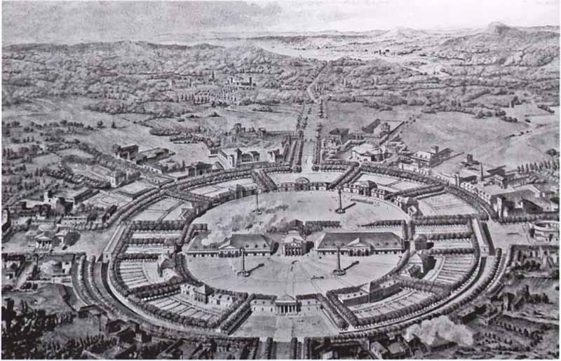 Загадка архитекторов Этьена Булле и Клода Леду идеи которому давали «сущности выходящие из тени», изображение №4