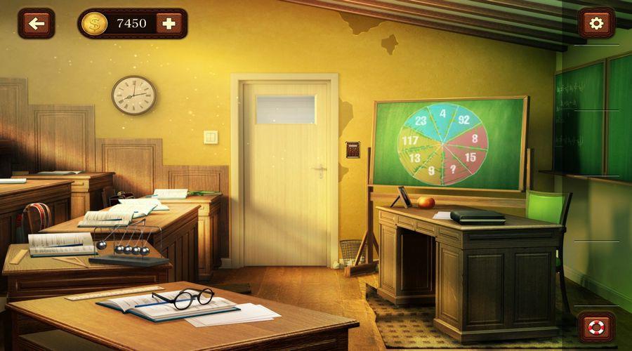 100 дверей: Побег из комнаты 50 уровень