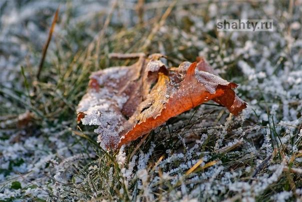 Заморозки в Шахтах до 5 градусов мороза: погода на...
