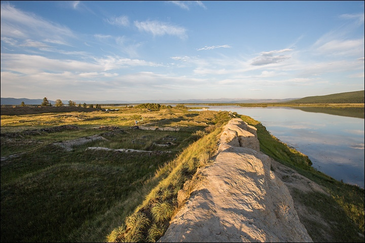 Тайна древней крепости Пор-Бажын, построенной на острове в сибирском озере, изображение №27