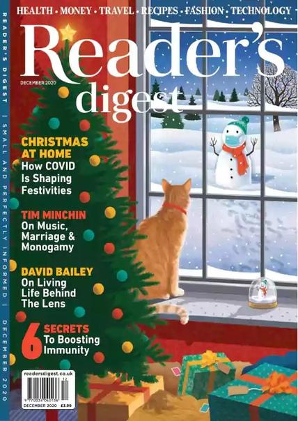 Readers Digest UK - December 2020