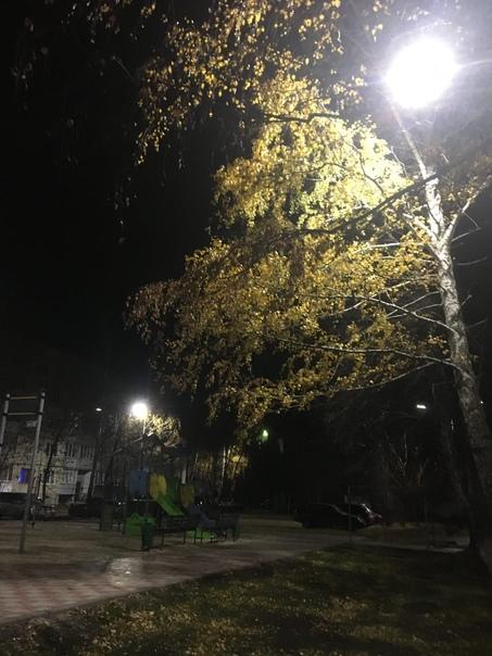 Прекрасная осенняя ночь а что нужно ещё...