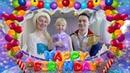 Именины у Кристины! С героями из мультика Холодное сердце! День рождения в детском саду
