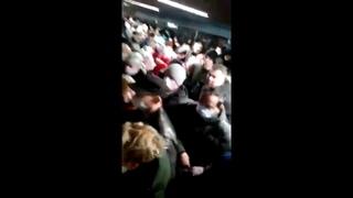 Коллапс в метро Москвы утром 15 апреля