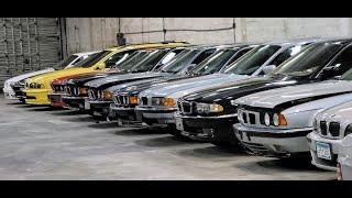 """Коллекция """"Гараж 90-х"""" Моторы компании BMW Alpina BMW М series Premerger Mercedes AMG Youngtimer"""